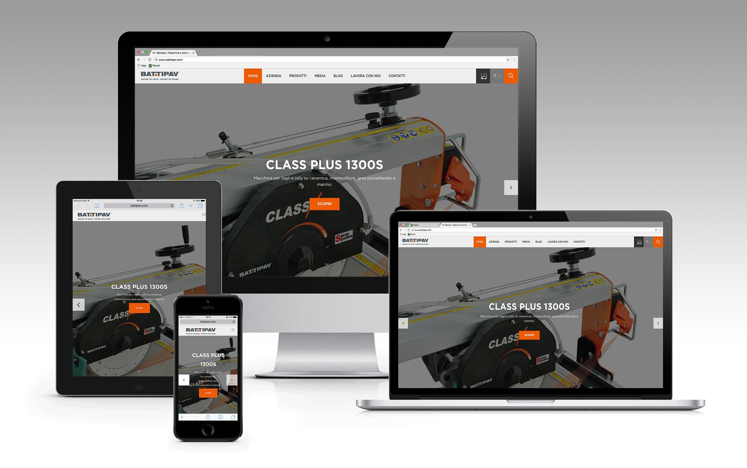 Presentazione nuovo website Battipav