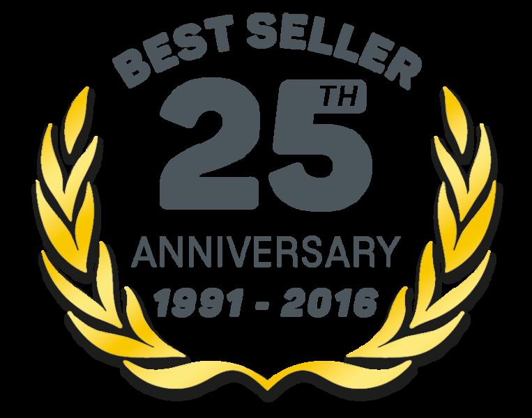 25th Anniversary celebratory logo